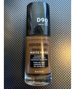 Covergirl Trublend Matte Made Liquid Foundation D90 Espresso 1 oz Make-u... - $3.86