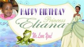 Disney's Princess & the Frog -Custom- Birthday Banner w/pic - $39.95
