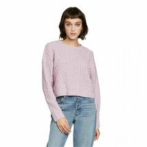Wild Fable NWT Women's Cropped Sweater ~ Sz L ~ Long Sleeve ~ Crewneck ~... - $19.79