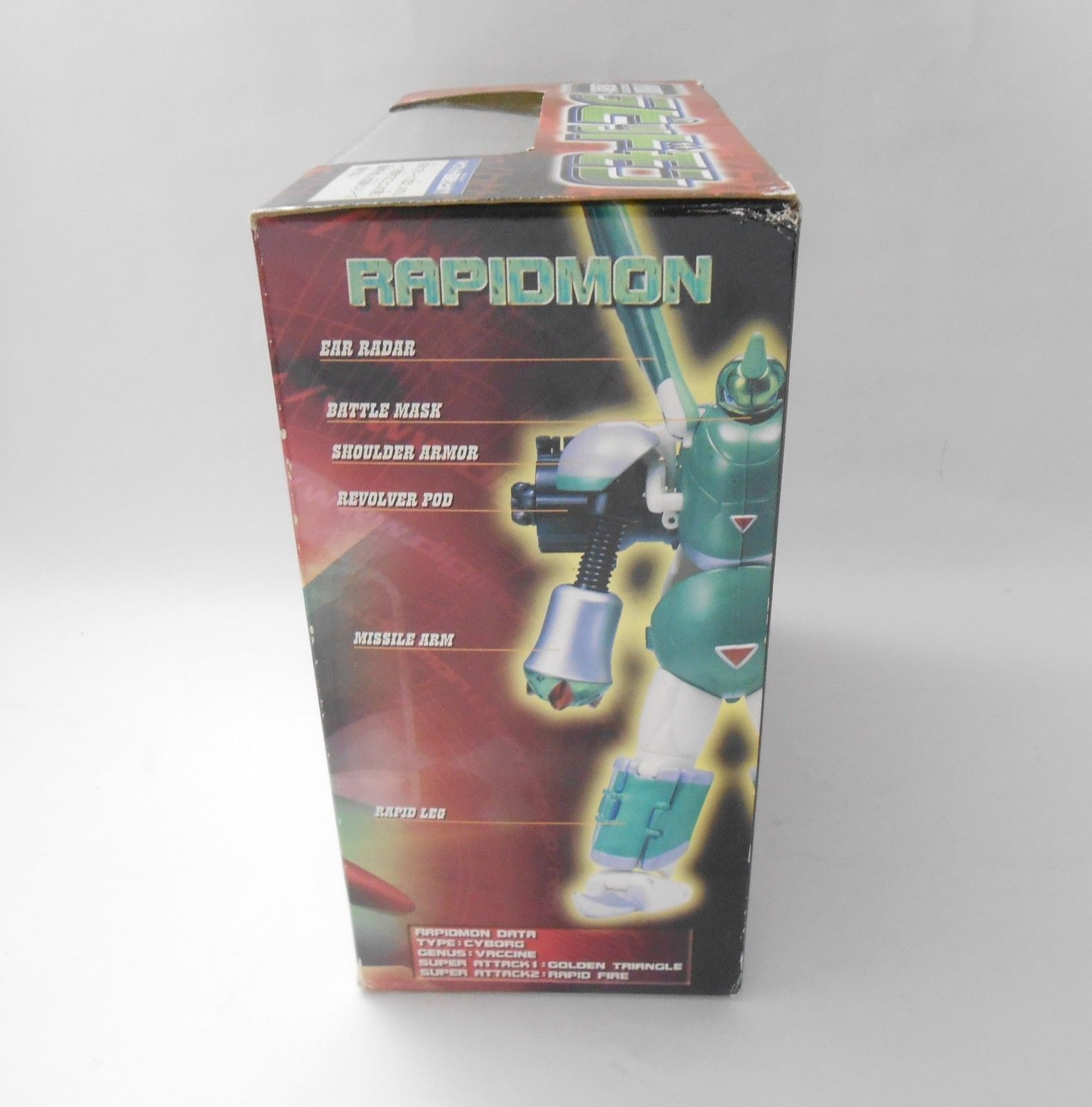 Bandai Digimon Tamers Hybrid Super Digivolving Action Figures Gargomon Rapidmon