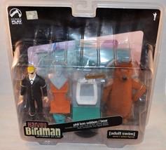 Adult Swim Harvey Birdman Phil Ken Sebben and Bear Action Figure Set Pal... - $29.99