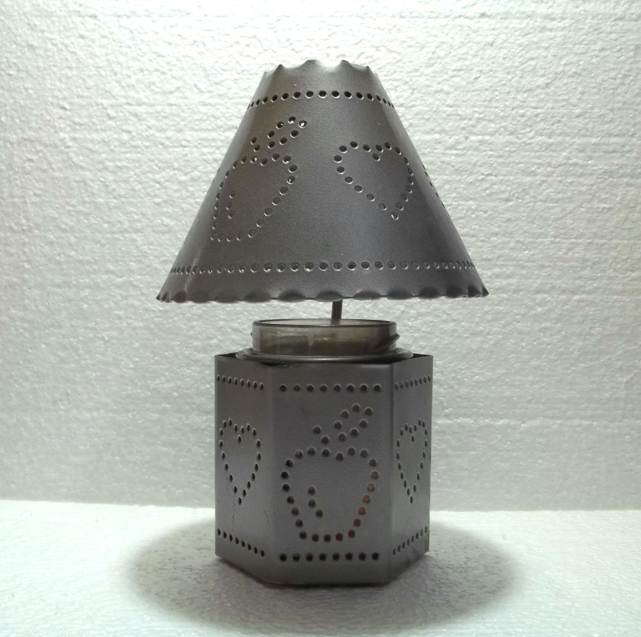 Home Interiors Pierced Tin Candle Holder And Shade Candle Holders Accessories