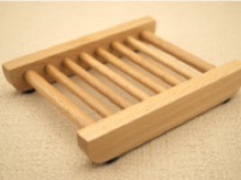 10 LADDER WOODEN DOWEL SOAP DISH Natural Wood For Handmade Soaps WHOLESA... - $35.00