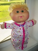 """Cabbage Patch Kids 2015 BABY Blonde Big Grn Eyes Dimple 13"""" NWOB - $14.84"""