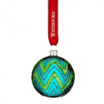 Waterford 2016 Brights Powerscourt Ball Holiday Heirlooms Ornament # 400... - $65.64