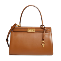 New Tory Burch Lee Radziwill Leather Satchel - With Shoulder Strap - Moo... - $476.00