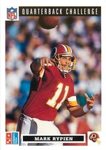 1991 UPPER DECK DOMINO'S QUARTERBACK CHALLENGE FOOTBALL CARD #31 MARK RY... - $0.94