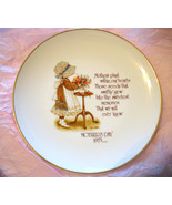 HOLLY HOBBIE COMMEMORATIVE PORCELAIN PLATE~MOTHER'S DAY 1975 - $6.00