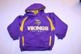 Youth Minnesota Vikings M (5/6) Athletic Performance Hoodie Hooded Sweatshirt (P - $15.88