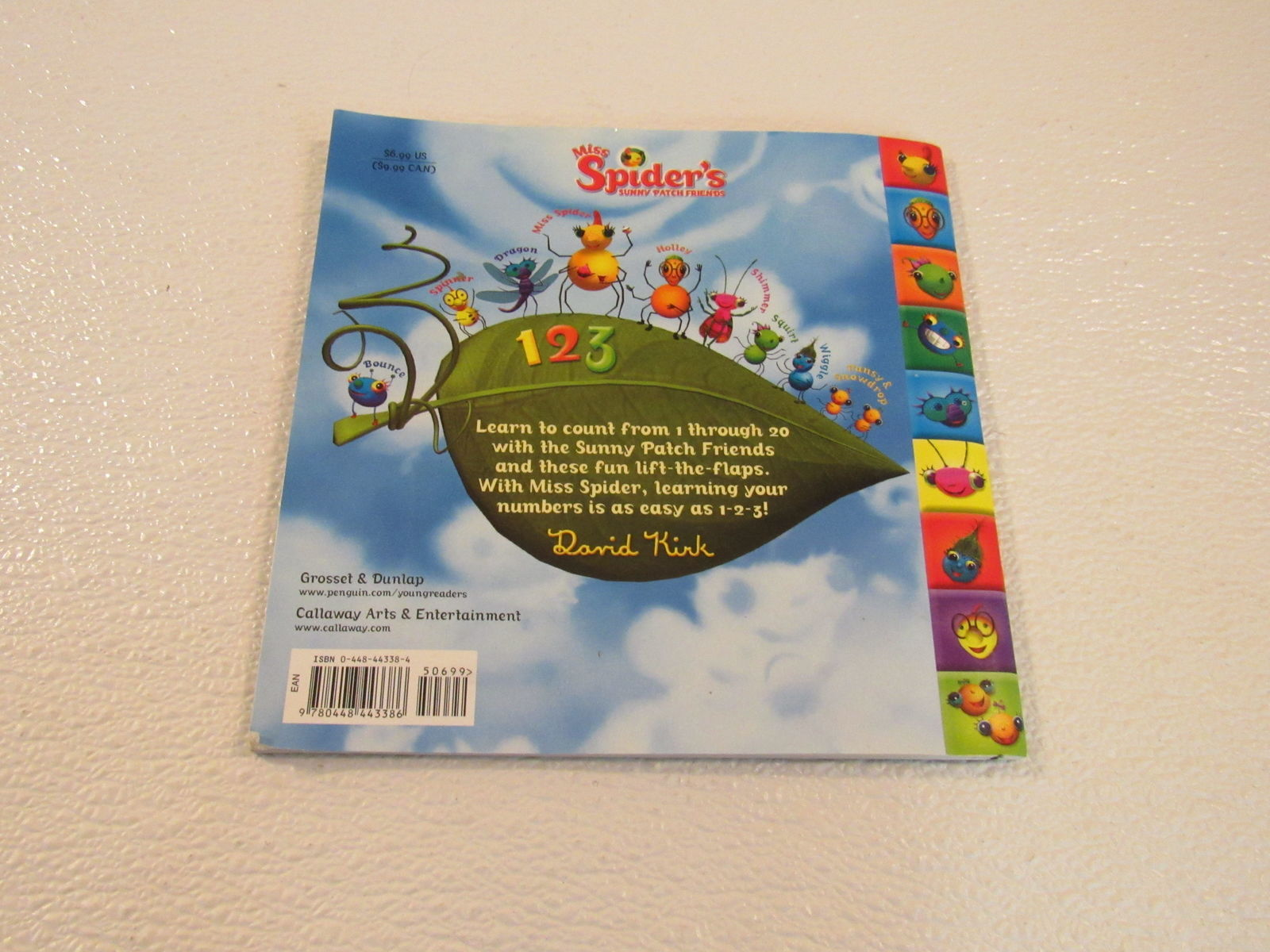 Grosset & Dunlap Miss Spiders Sunny Patch Friends David Kirk Softcover