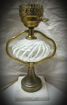 Rare~Fenton Glass French Opalescent White Swirl - $45.00