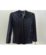 GUESS JEANS BLACK WOMEN'S LIGHT BLOUSE TOP LARGE - $29.99