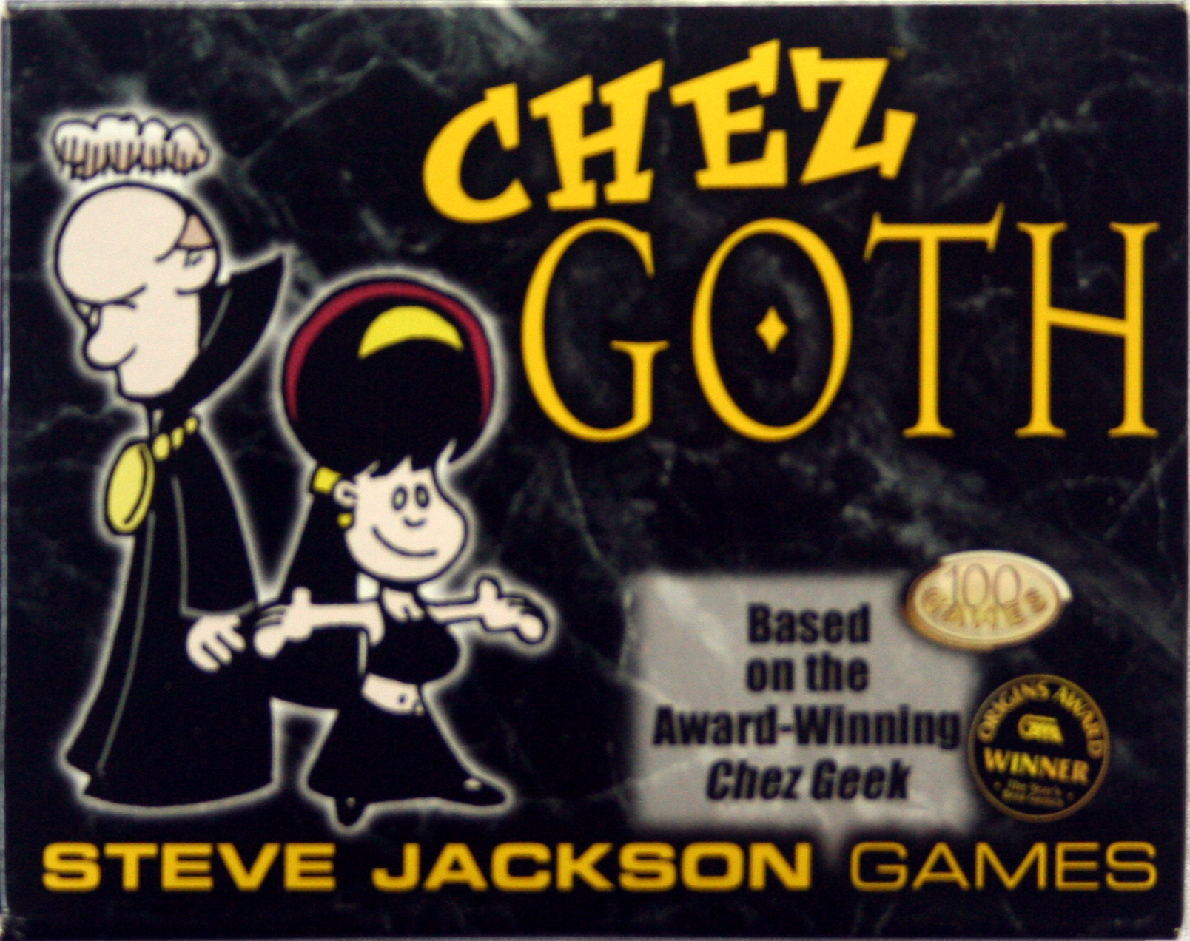 Primary image for CHEZ GOTH Card Game for Dark Souls MINT OOP!