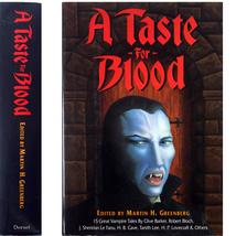 A Taste For Blood - Vampire Tales HC OOP H. P. Lovecraft - $12.00