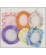 Spring Summer Floral Tucks set 6 assorted fabri... - $19.35