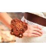 Funky Beaded Flower Bracelet Crochet Pattern PDF - $4.99