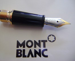 Replacement spare Parts  Pen Nib  Montblanc for Chopin145 Gold trim Foun... - $92.76