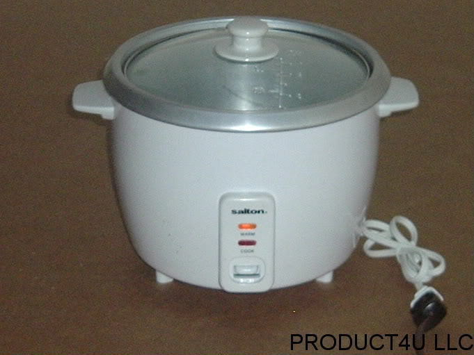 Automatic Rice Cooker ~ Salton ra a cup automatic rice cooker cookers steamers