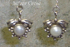 Freshwater Pearl & Sterling Silver Earrings - $21.99
