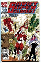 Soviet Super Soldiers #1-First issue-Marvel comic book 1992 - $18.62