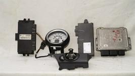 09 Mini Cooper R56 ECU ECM DME CAS3 Computer Ignition Switch Fob Tach SET - 6spd