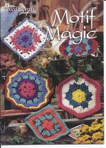 RARE~Motif Magic Crochet Pattern~The Needlecraft Shop~17 Designs~OOP - $8.50
