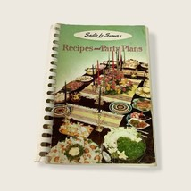 Sadie Le Sueur's Recipes and Party Plans Cookbook Spiral Bound 1955 Four... - $14.95