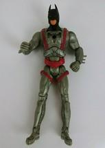 2005 Mattel Batman Begins Battle Cape Batman Action Figure Power tek  - $2.55