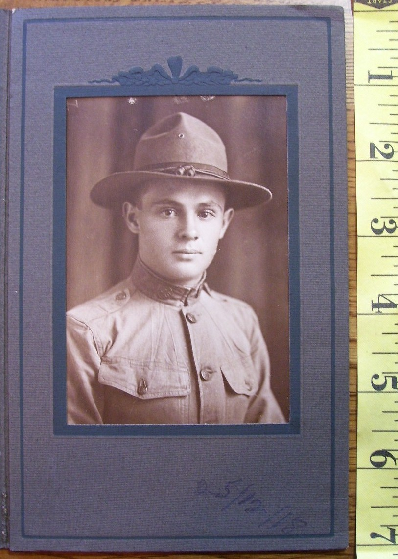 1918 wwi doughboy named  4