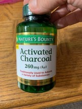 Natures Bounty Activated Charcoal 260 MG 100 Capsules - $22.65