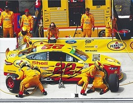 Autographed 2016 Joey Logano #22 Shell Pennzoil Racing Pit Stop Crew (Sprint Cup - $98.96
