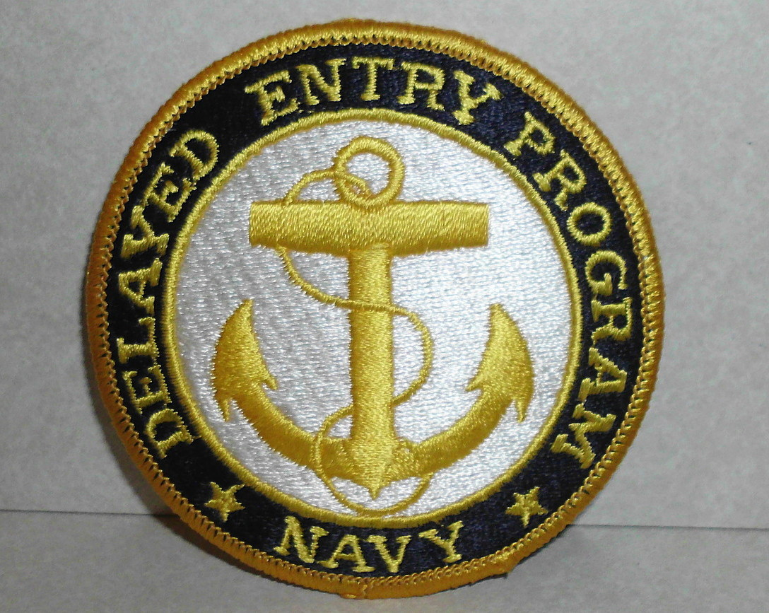 U.S. US Navy Delayed Entry Program Anchor Patch