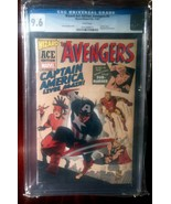 Avengers (1963) # 4 Wizard Ace Edition CGC Graded 9.6 - $60.00