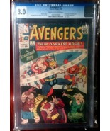 Avengers (1963) # 7 CGC Graded 3.0 Marvel Comics - $99.99