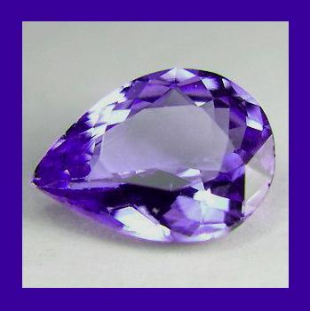 Tanzanite pear 0.70ct