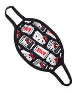 Universal Studios Parks Face Mask Hello Kitty Movie Ticket Pattern - MEDIUM - $19.95