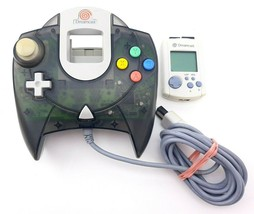 Sega Dreamcast Milennium Edition Smoke Black Controller w/Memory - $34.77