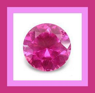 Tourmaline pink round 4.4mm 0.40ct