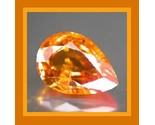 Sapphire pear orange  small 4.6x3.1 0.32ct thumb155 crop
