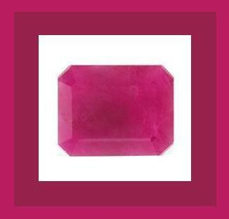 4.50ct Natural RUBY Emerald Cut 10x8mm Facet Loose Gemstone