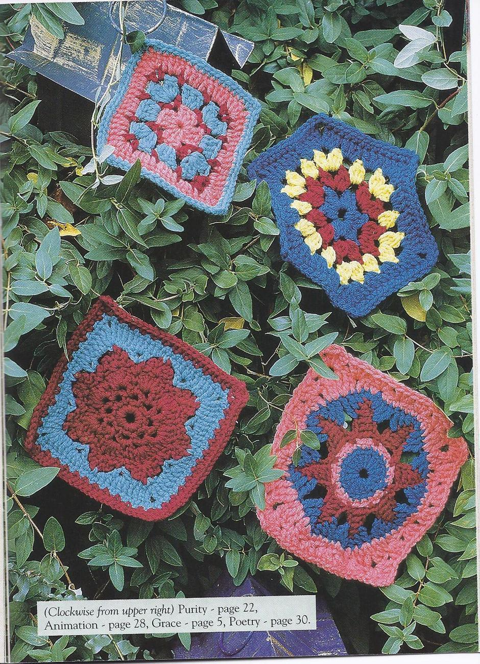RARE~Motif Magic Crochet Pattern~The Needlecraft Shop~17 Designs~OOP