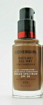 Covergirl Outlast All Day 3-in-1 Foundation SPF20 875 Soft Sable *Twin P... - $14.00