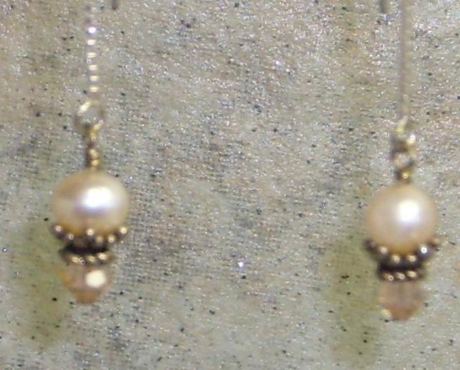 Silver peach threaders