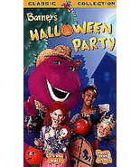 Barney's Halloween Party VHS Video Movie USED  - $5.99