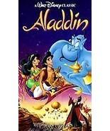 Walt Disney Aladdin VHS Video Movie USED Robin Williams - $3.99