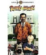 Dennis the Menace 1993 Walter Matthau VHS Video USED  - $4.99