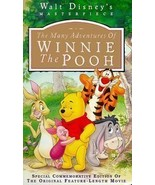 The Many Adventures of Winnie the Pooh VHS Video USED  - $5.99