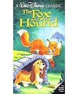 Walt Disney's The Fox and the Hound VHS Video USED  - $4.99