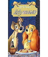 Walt Disney's Lady and the Tramp VHS Video USED  - $4.99