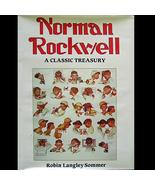 Norman Rockwell Classic Treasury HC/DJ OOP  & Scarce! - $10.00